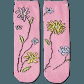 Wild Flowers Plush Snuggle Sock