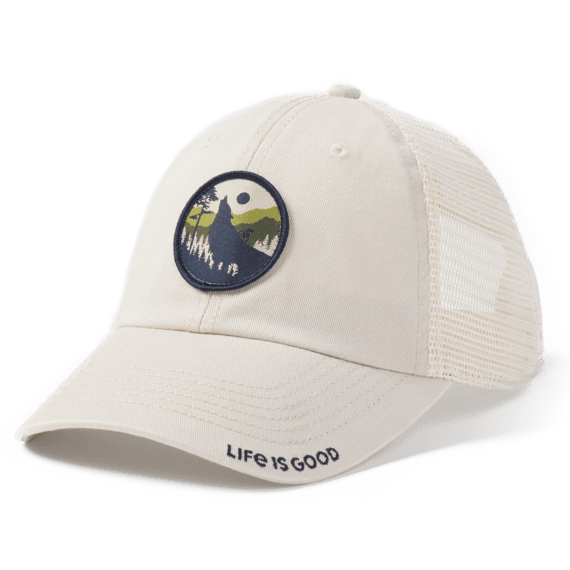 Wolf Biker Soft Mesh Back Cap