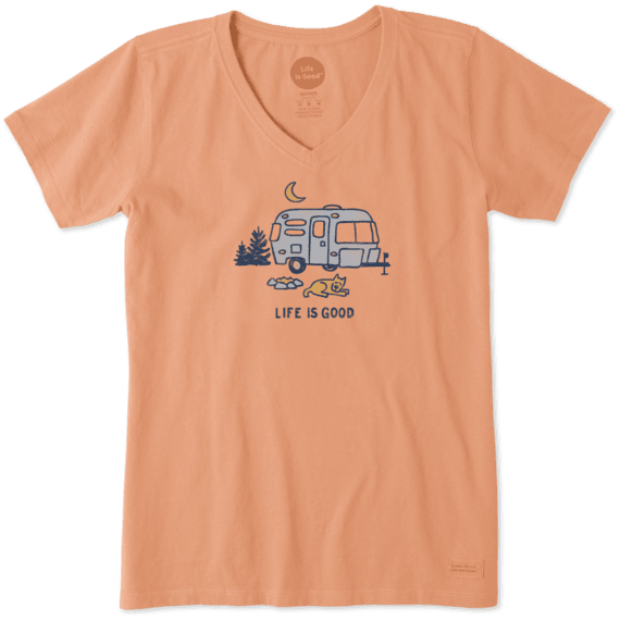 Women's Airstream Campfire Crusher Vee