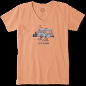 Women's Airstream Campfire Crusher Vee