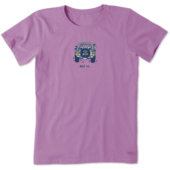 Women's All in ATV Vintage Crusher Tee