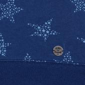 Women's All Over Star Print Crew Sweatshirt