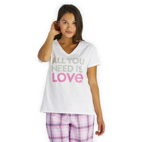 Women's All You Need Snuggle Up Relaxed Sleep Vee
