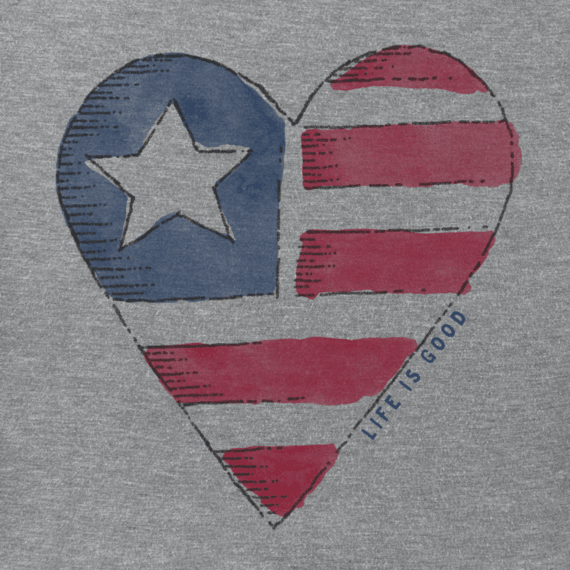 Women's Americana Heart Smooth Tee
