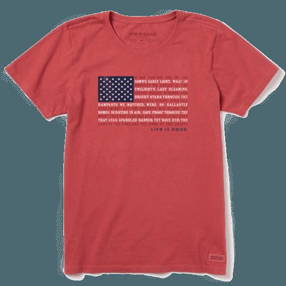 Women's Anthem Flag Crusher Tee