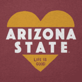 Women's Arizona State Heart Knockout Cool Vee