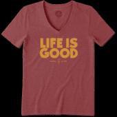 Women's Arizona State Life is Good Cool Vee