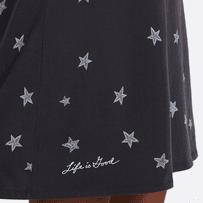 Women's Artsy Stars Smooth Tee Dress