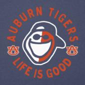 Women's Auburn Face Paint Jake Long Sleeve Cool Vee