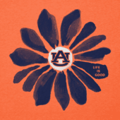 Women's Auburn Tigers Daisy Long Sleeve Cool Vee