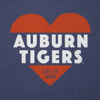 Women's Auburn Tigers Heart Knockout Cool Vee