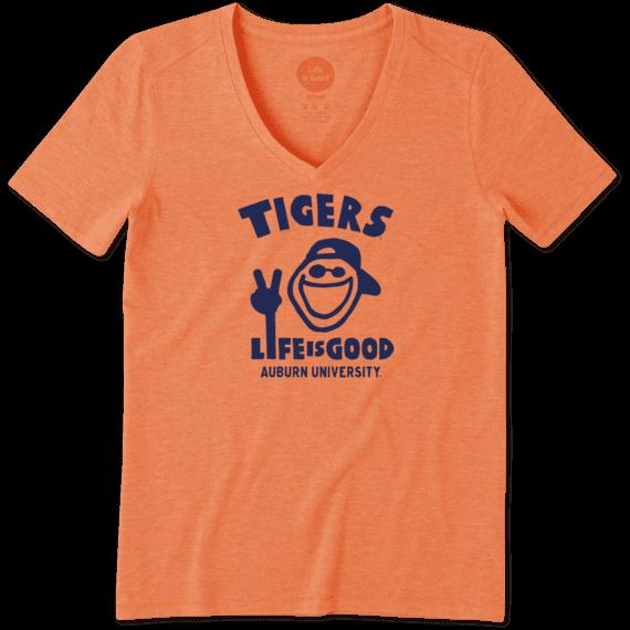 Women's Auburn Tigers Jake Peace Cool Vee