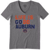 Women's Auburn Tigers LIG Go Team Cool Vee