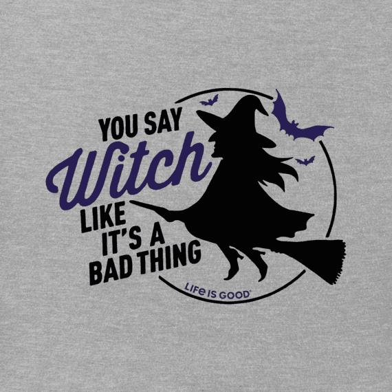Women's Bad Thing Witch Crusher Vee