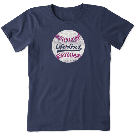 Women's Ballyard Baseball Crusher Tee