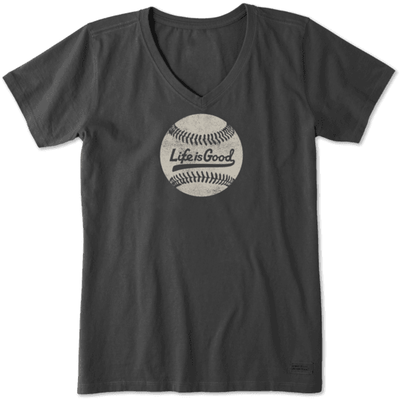 Women's Ballyard Baseball Crusher Vee