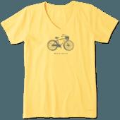Women's Basket Bike Device Crusher Vee