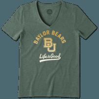 Women's Baylor Bears Gradient Tailwhip Cool Vee
