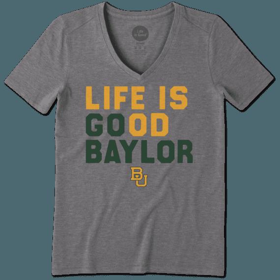Women's Baylor Bears LIG Go Team Cool Vee