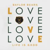 Women's Baylor Bears Love Stack Sleeveless Tee