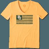 Women's Baylor Bears Team Flag Cool Vee
