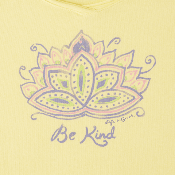 Women's Be Kind Lotus Smooth Scoop Tee
