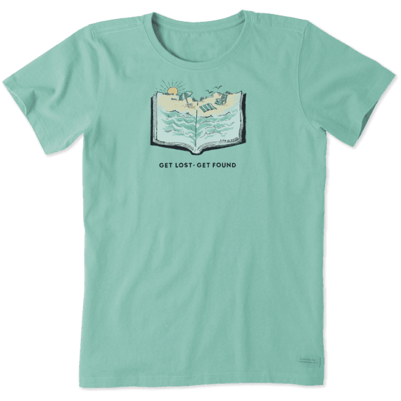 Women's Beach Book Crusher Tee