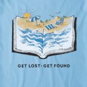 Women's Beach Book Crusher Vee