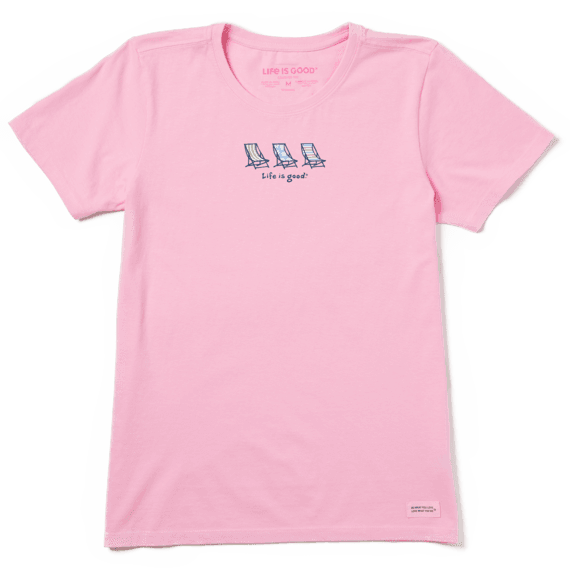 Life is Good Womens Vintage Crusher T-Shirt