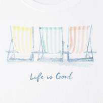 563138070ac Women s Beach Chairs Watercolor Sleeveless Crusher Scoop