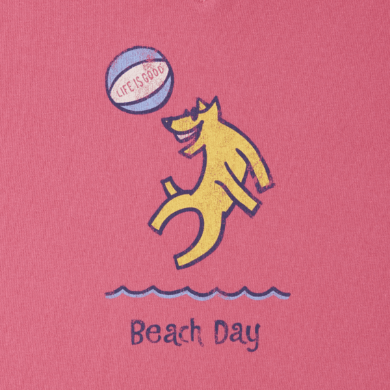 Women's Beach Day Rocket Crusher Vee