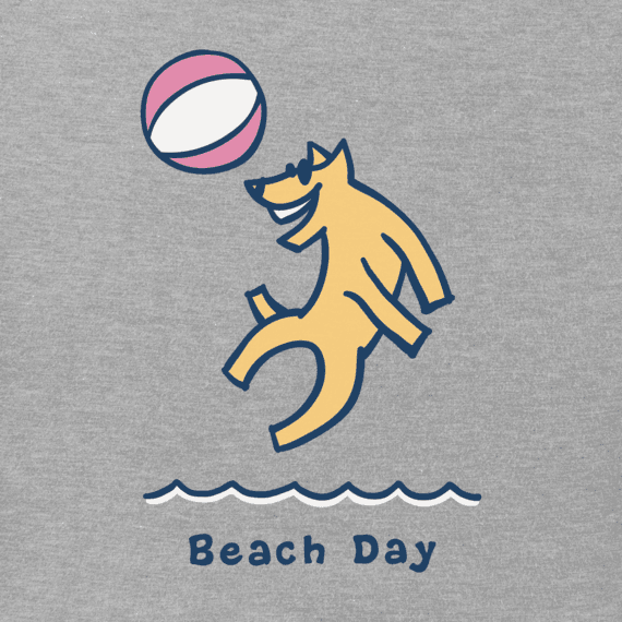 Women's Beach Day Rocket Vintage Crusher Tee