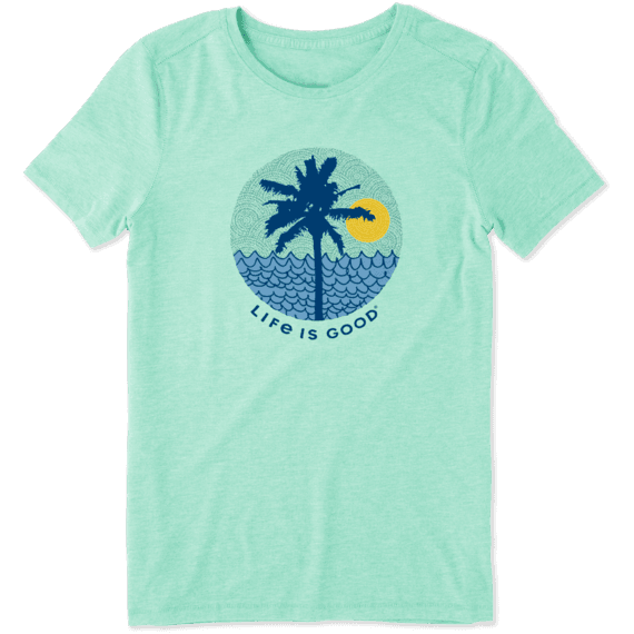 Women's Beach Patterns Cool Tee