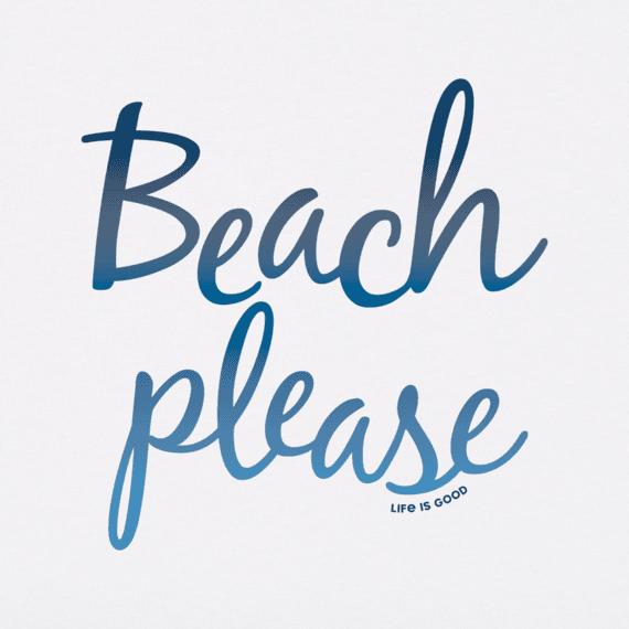 Women's Beach Please Crusher Vee