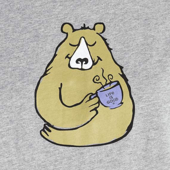 Women's Bearly Snuggle Up Relaxed Sleep Long Sleeve