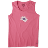 Women's Beautiful Daisy Crusher Scoop Tank