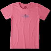 Women's Beautiful Dragonfly Crusher Tee