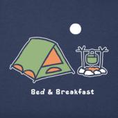 Women's Bed And Breakfast Vintage Crusher Tee