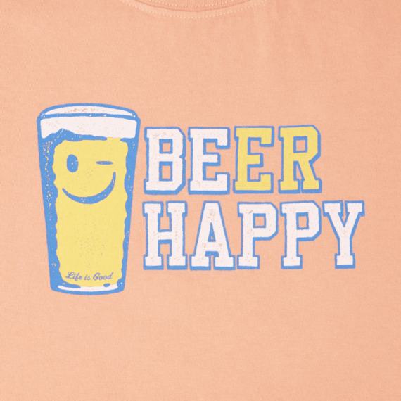 Women's Beer Happy Crusher Tee