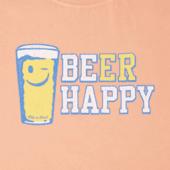 Women's Beer Happy Crusher Tee
