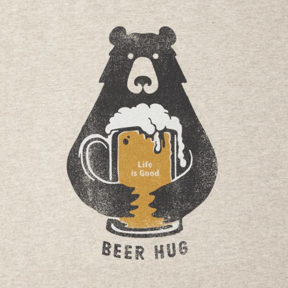 Women's Beer Hug Long Sleeve Crusher Tee