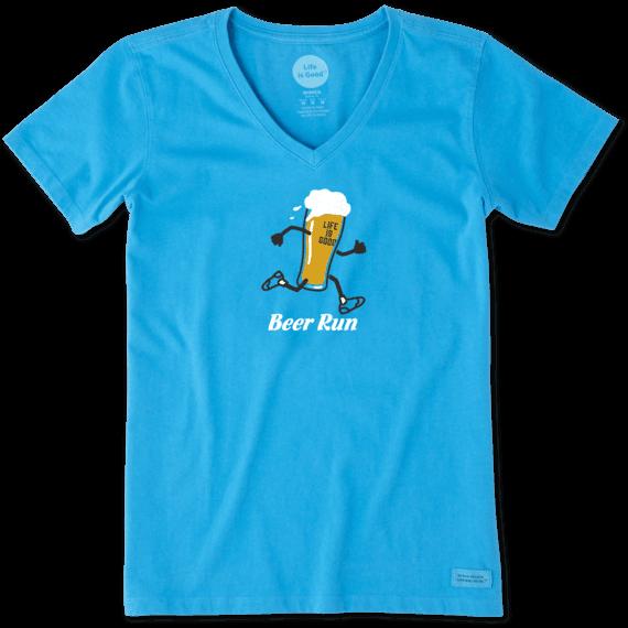 Women's Beer Run Crusher Vee
