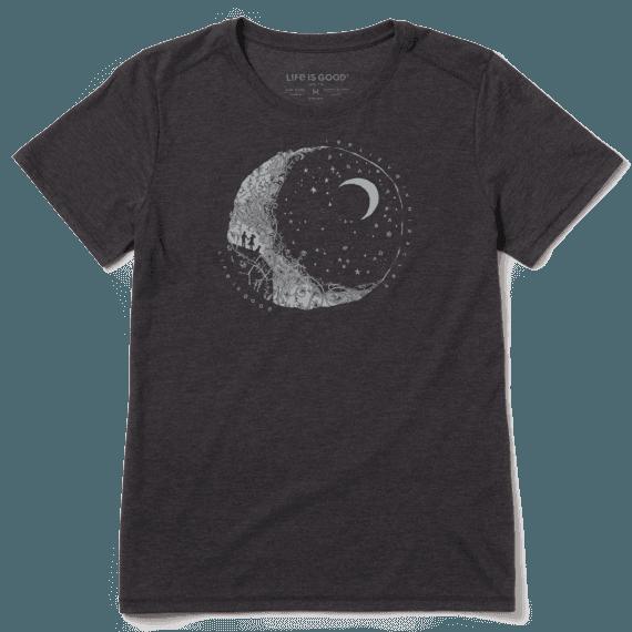 Women's Believe in Miracles Moon Cool Tee