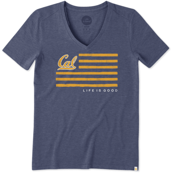 Women's Berkeley Flag Cool Vee