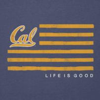 Women's Berkeley Flag Cool Vee