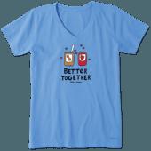 Women's Better Together PBJ Crusher Vee