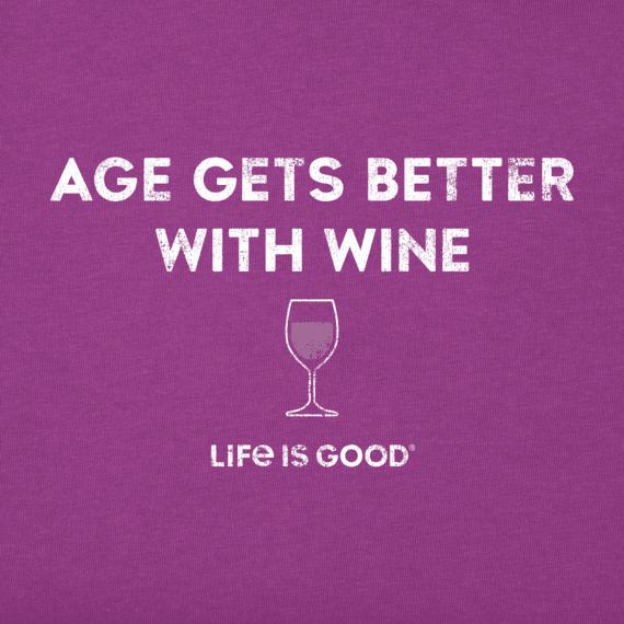 Women's Better With Wine Crusher Vee