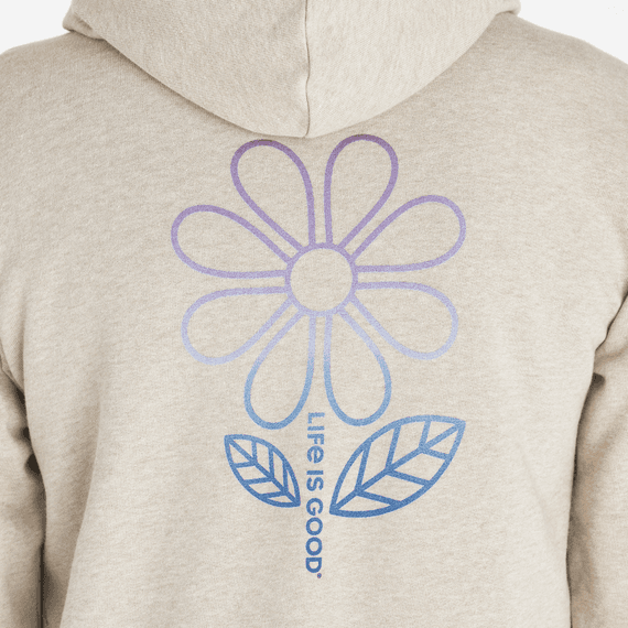 Women's Big Daisy Simply True Zip Hoodie