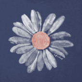 Women's Big Daisy Smooth Scoop Tee