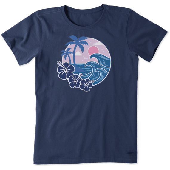 Women's Big Waves Crusher Tee